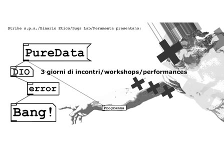 First Italian Pure Data Convention